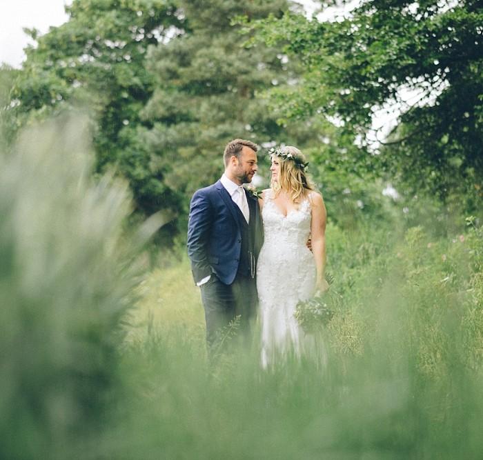 A Back Garden Festival Tipi Wedding - Jenny + Kevin
