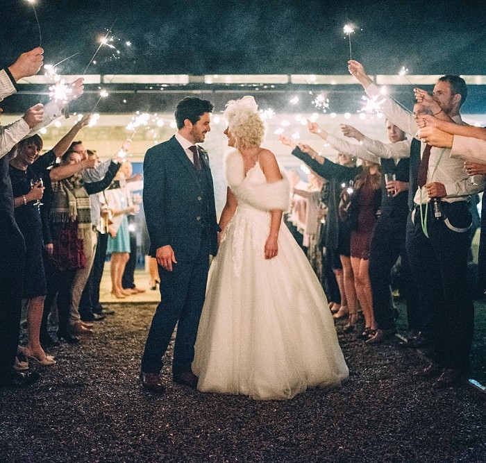 Yorkshire Wedding Barn - A Chic Barn Wedding -  with Danielle and Chris