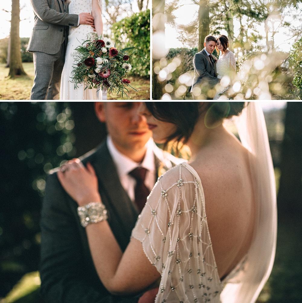 Ellingham Hall Jenny Packham Wedding (24)