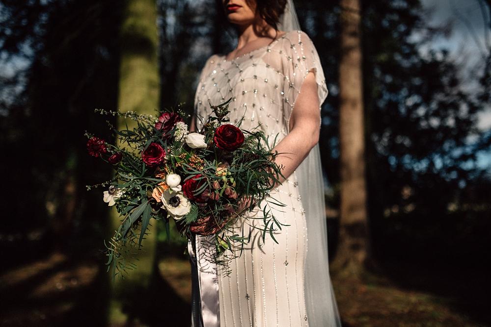 Ellingham Hall Jenny Packham Wedding (26)