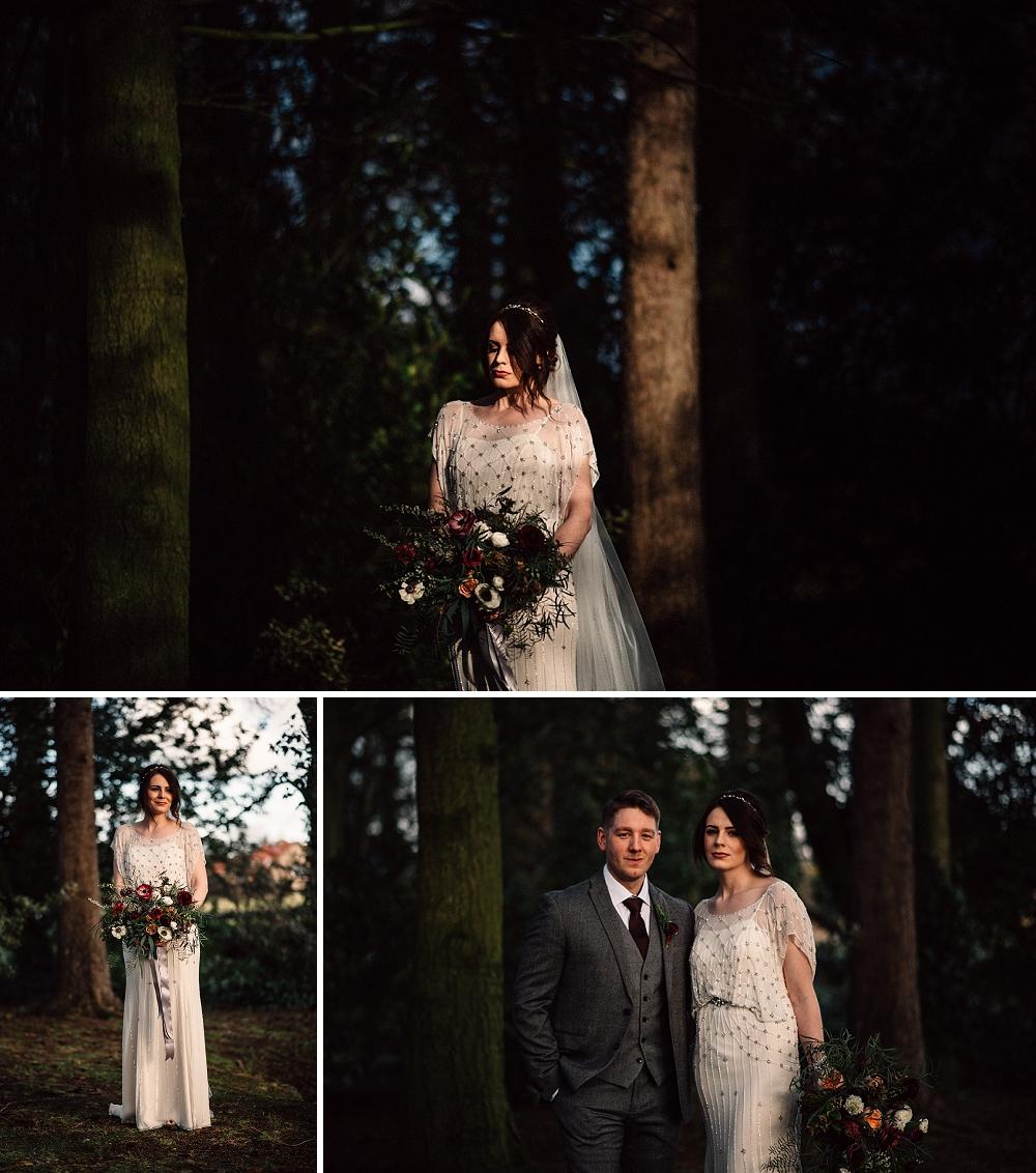 Ellingham Hall Jenny Packham Wedding (27)