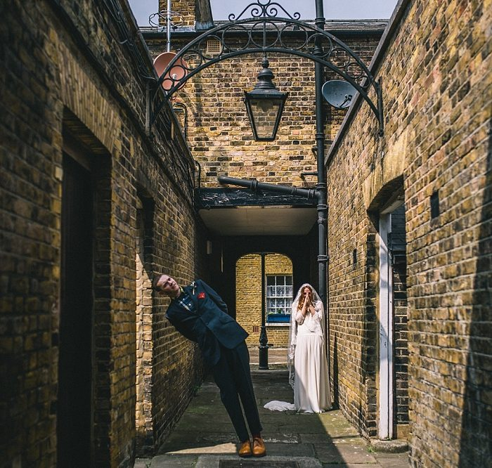 The Asylum Wedding Photography - London Wedding Photographer