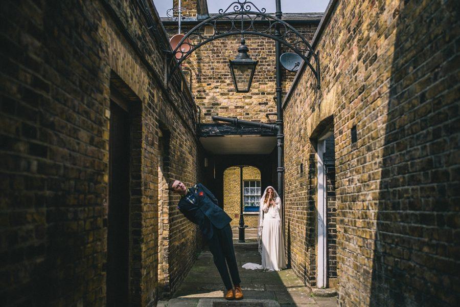 The Asylum Wedding Photography - London Wedding Photographer