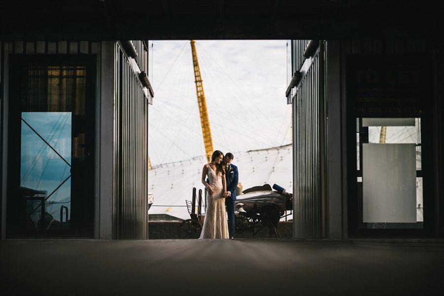 TRINITY BUOY WHARF WEDDING - THE CHAINSTORE LONDON