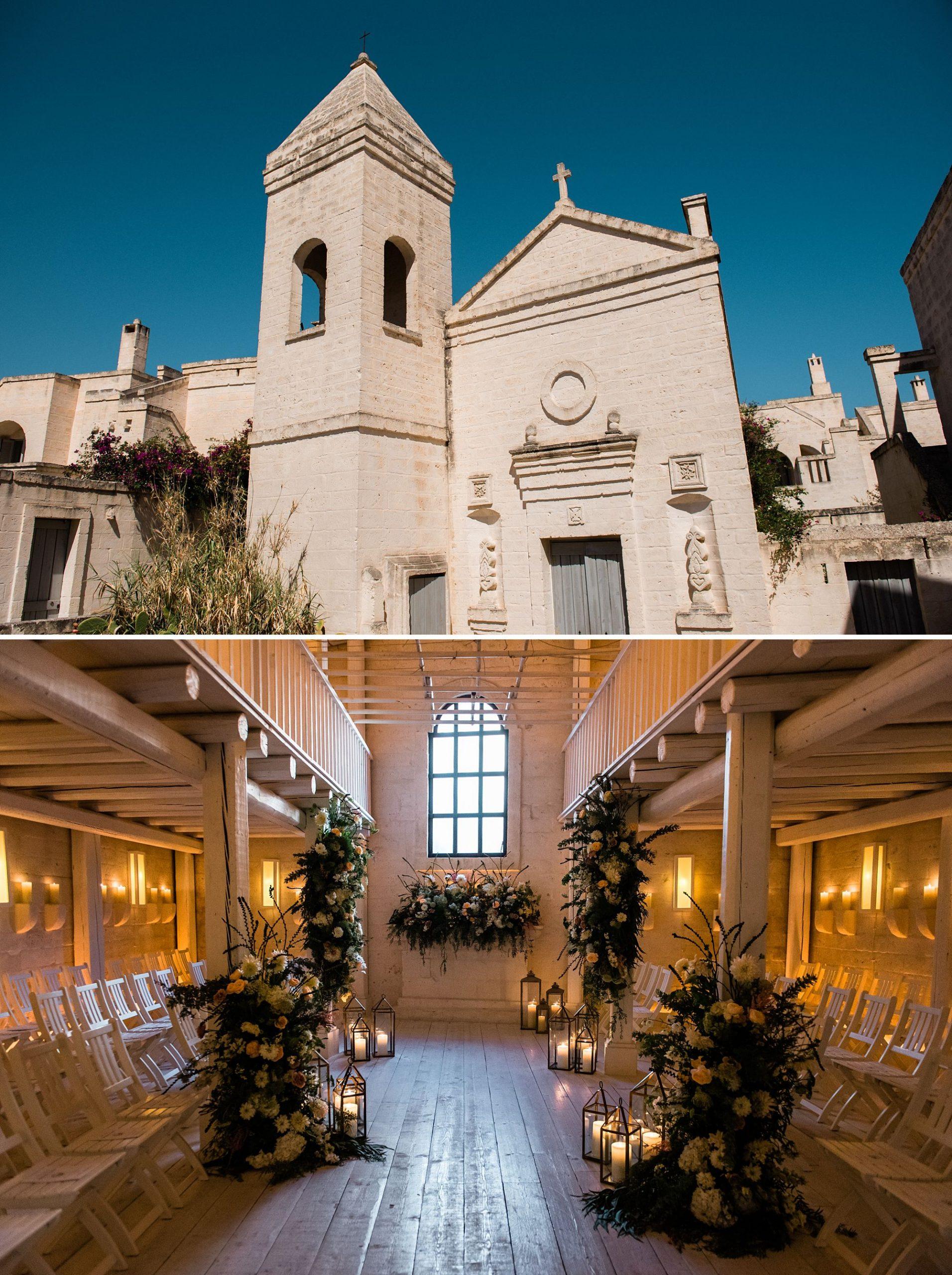 Borgo Egnazia Wedding Ceremony Chapel