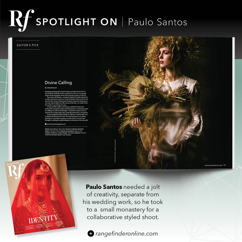 Rangefinder Magazine Features Paulo Santos at Brinkburn