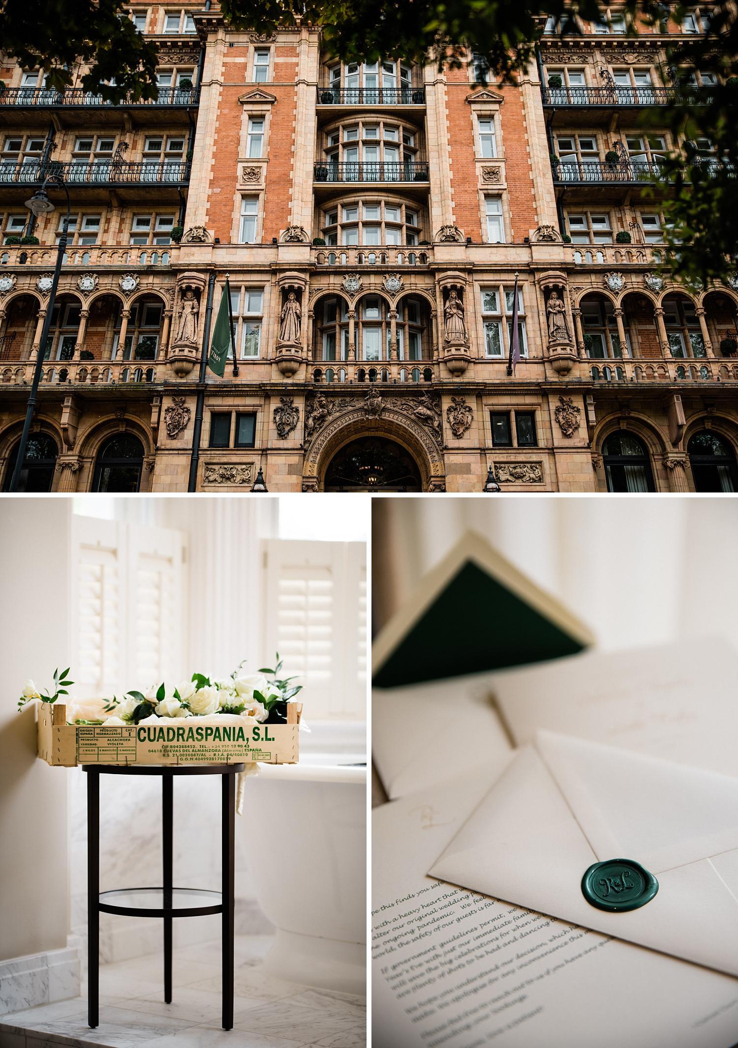 kimpton fitzroy wedding london photos
